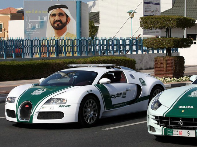 Dubai Police add Bugatti to its fleet of patrol cars